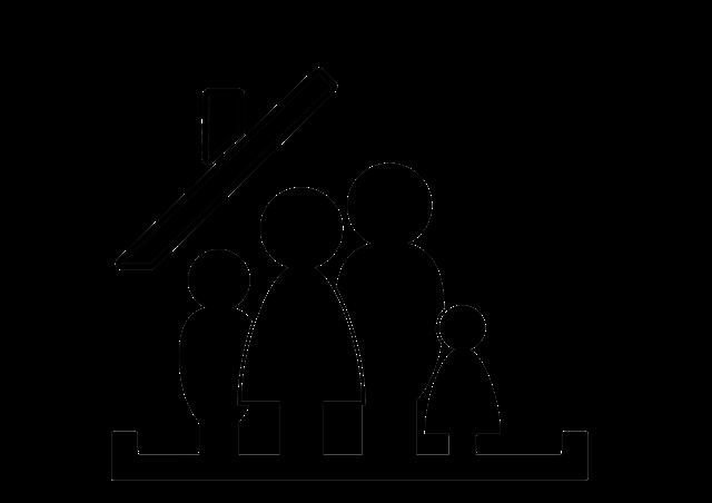 domek s rodinou