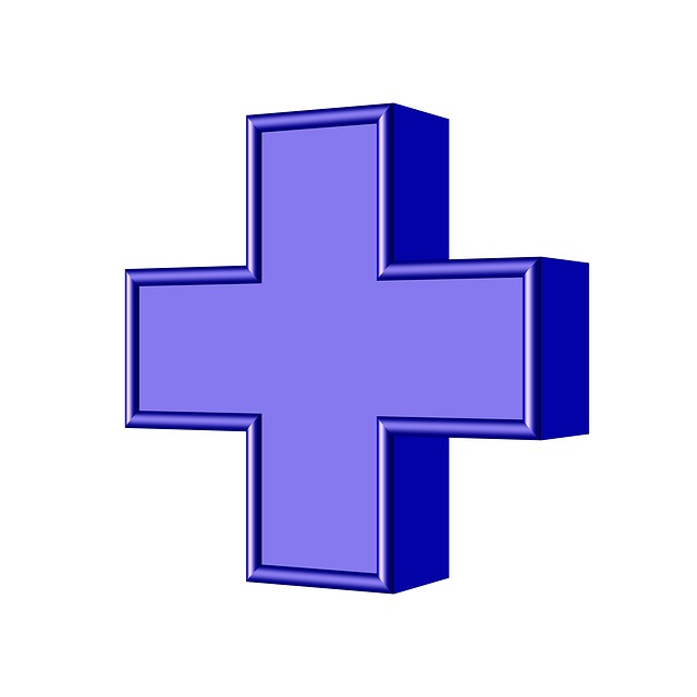 modrý kříž