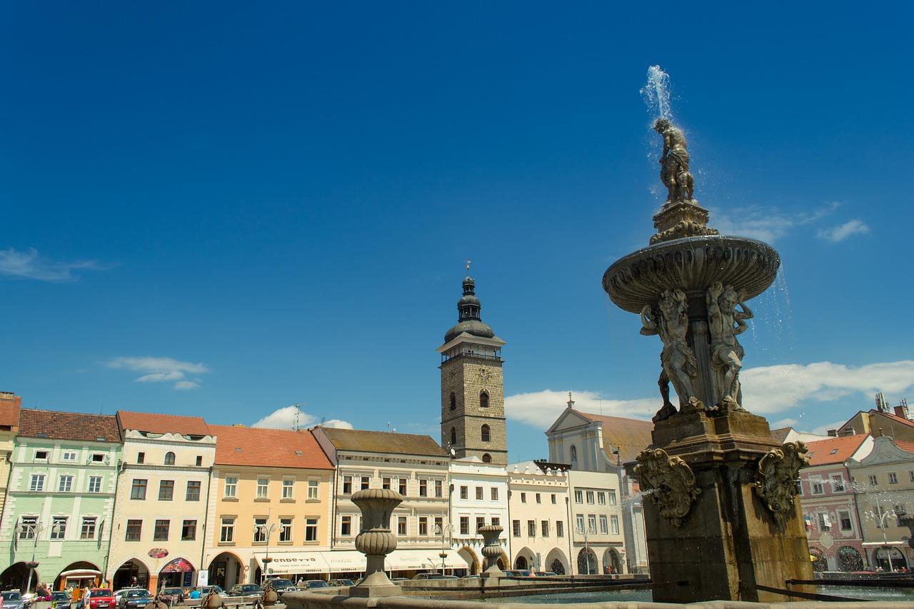 náměstí v Českých Budějovicích